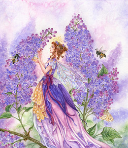 Lilac Tending Fairy