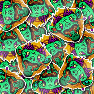 Sticker-Camo-Zombie-Monkey-Troll